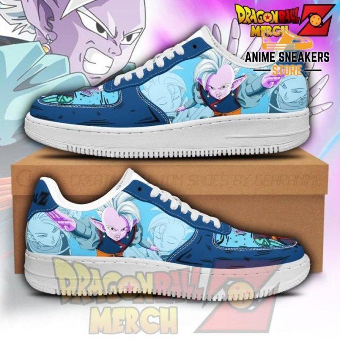 Kaioshin Air Force Sneakers Custom Shoes No.1 Men / Us6.5