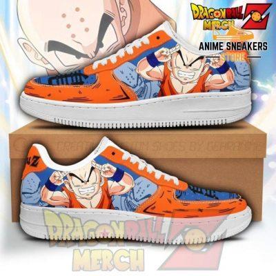 Krillin Air Force Sneakers Custom Shoes No.1 Men / Us6.5
