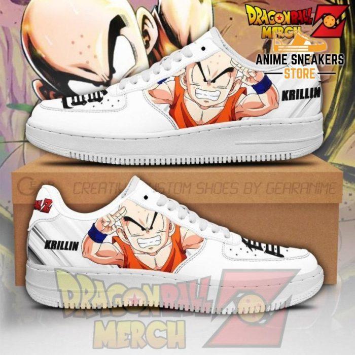 Krillin Air Force Sneakers Custom Shoes No.2 Men / Us6.5