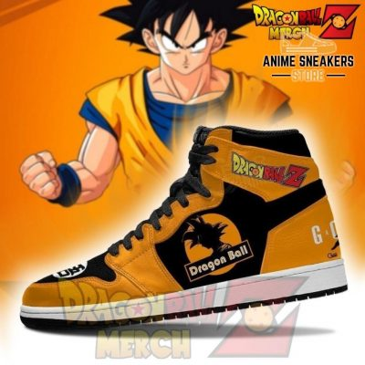 Dragon Ball Z Shoes Custom Son Goku Jordan Sneakers No.6 Jd