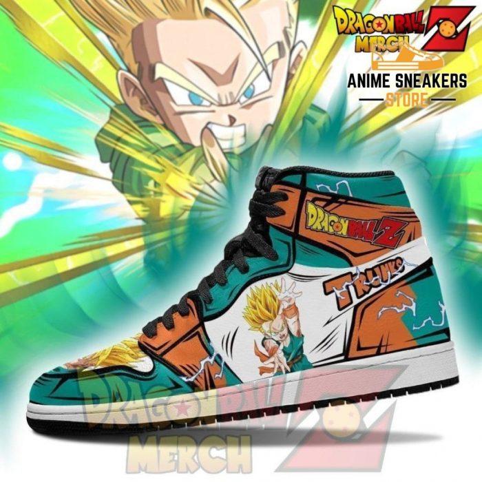 Ssj Kid Trunks Shoes Jordan Sneakers Custom Jd