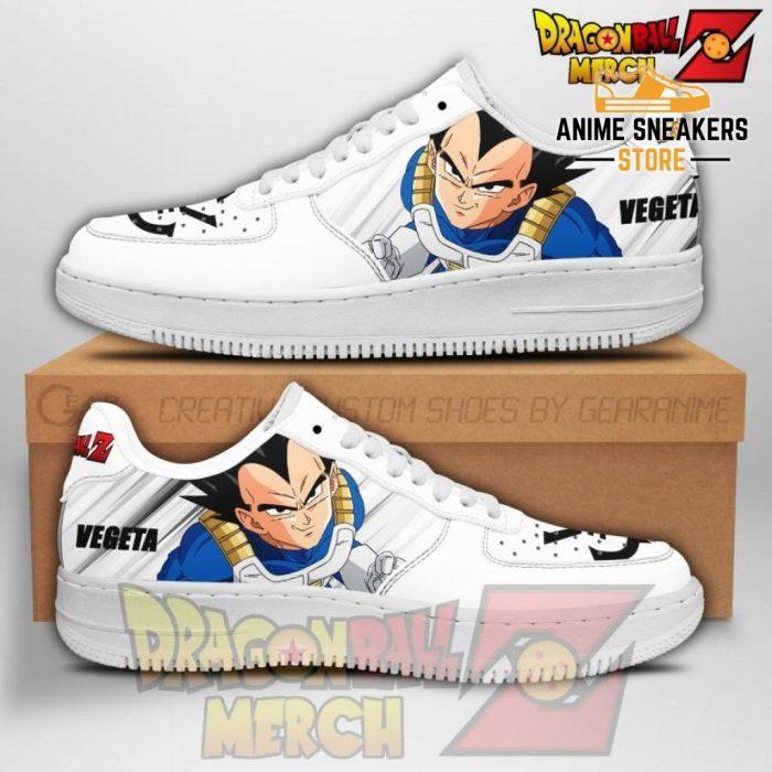 Vegeta Air Force Sneakers Custom Shoes No.1 Men / Us6.5