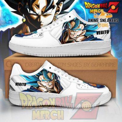 Vegito Air Force Sneakers Custom Shoes No.1 Men / Us6.5