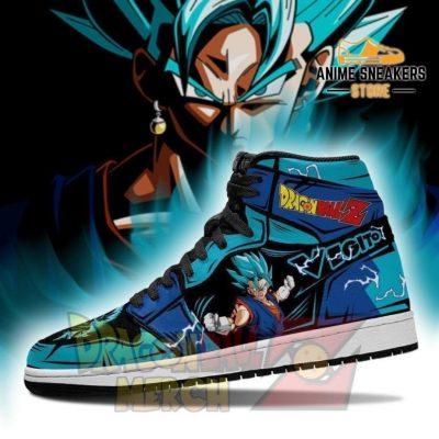 Vegito Blue Jordan Sneakers Custome Shoes No.1 Jd