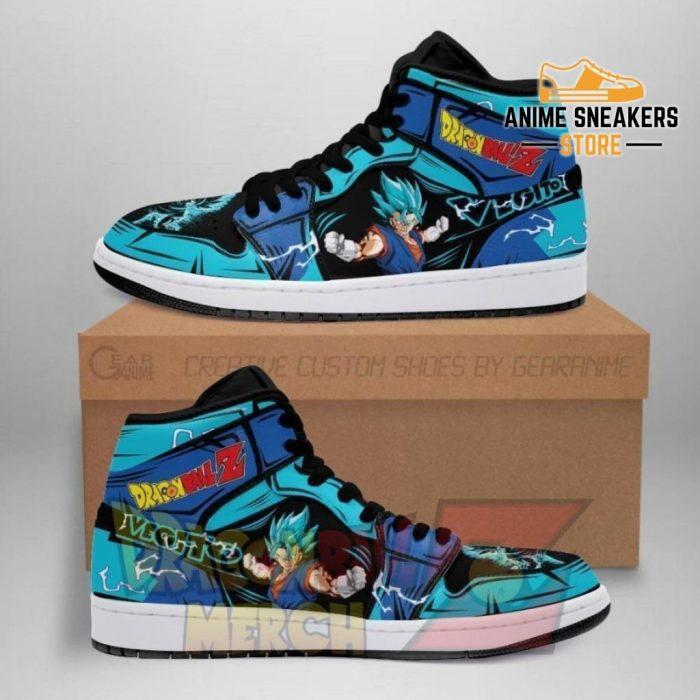 Vegito Blue Jordan Sneakers Custome Shoes No.1 Men / Us6.5 Jd