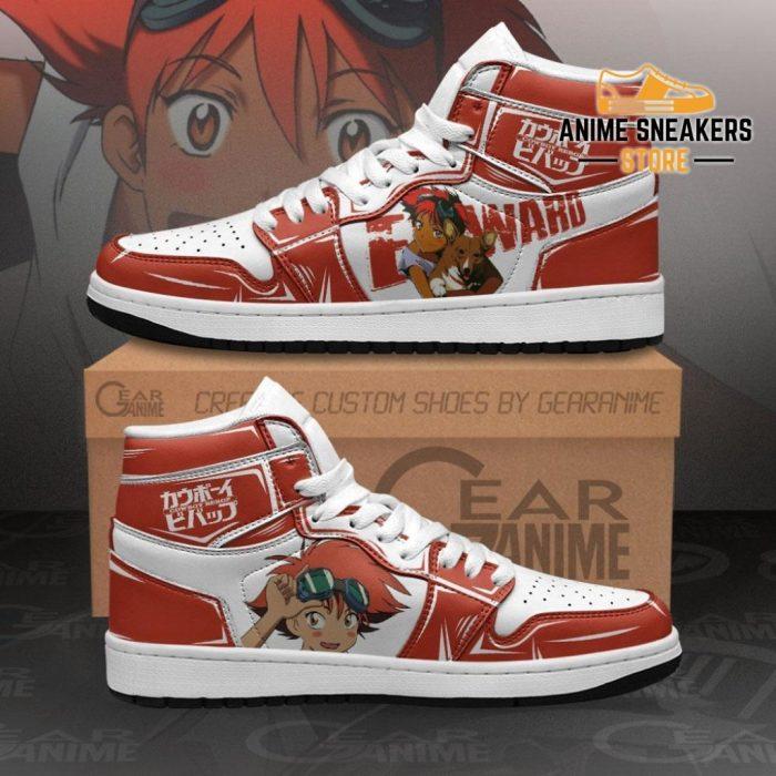 Edward Sneakers Cowboy Bebop Custom Anime Shoes Mn11 Men / Us6.5 Jd