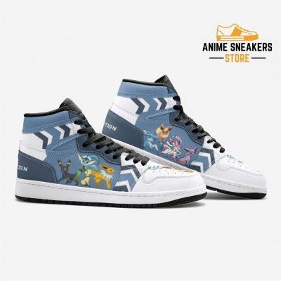 Eevee Evolution Pokémon Custom J-Force Shoes Mens