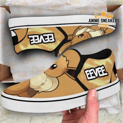 Eevee Slip On Shoes Pokemon Custom Anime Slip-On