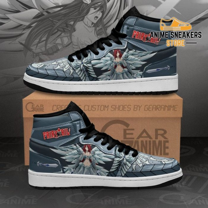 Erza Scarlet Sneakers Heaven Amor Fairy Tail Anime Shoes Men / Us6.5 Jd