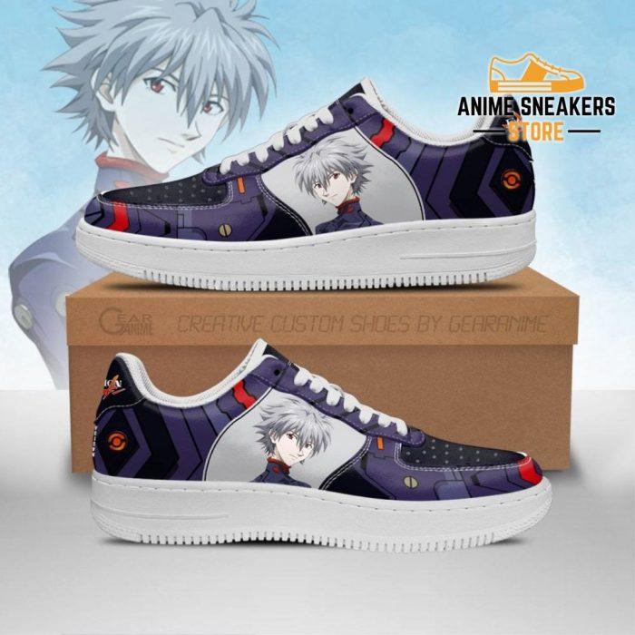 Evangelion Kaworu Nagisa Sneakers Neon Genesis Shoes Men / Us6.5 Air Force