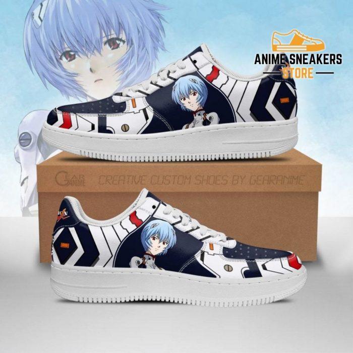 Evangelion Rei Ayanami Sneakers Neon Genesis Shoes Men / Us6.5 Air Force