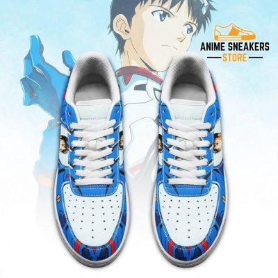 Evangelion Shinji Ikari Sneakers Neon Genesis Shoes Air Force