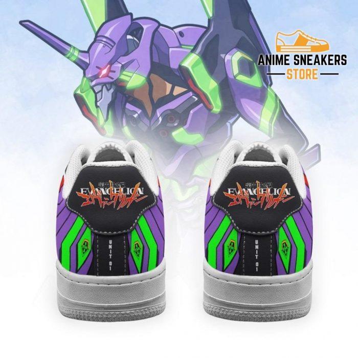Evangelion Unit-01 Sneakers Neon Genesis Shoes Air Force