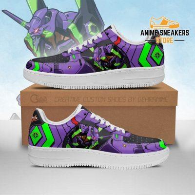Evangelion Unit-01 Sneakers Neon Genesis Shoes Men / Us6.5 Air Force