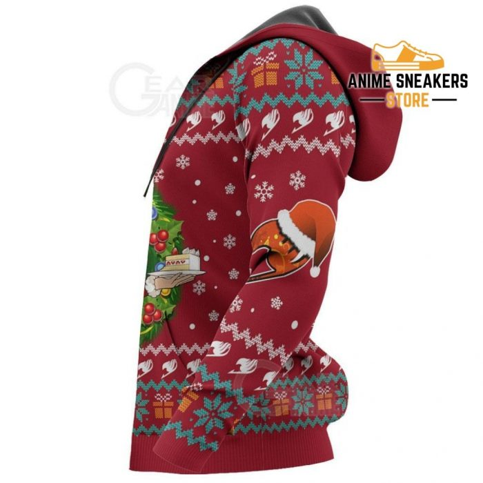 Fairy Tail Erza Scarlet Ugly Christmas Sweater Anime Xmas Va11 All Over Printed Shirts