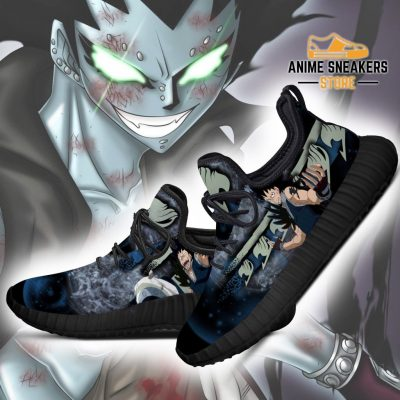 Fairy Tail Gajeel Reze Shoes Anime Sneakers