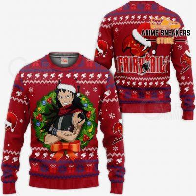 Fairy Tail Gajeel Ugly Christmas Sweater Anime Xmas Va11 / S All Over Printed Shirts