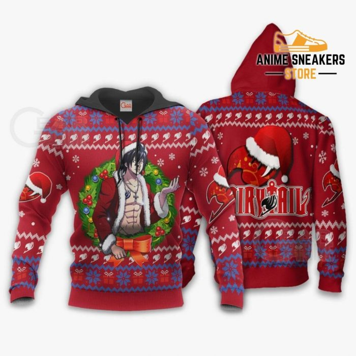 Fairy Tail Gray Fullbuster Ugly Christmas Sweater Anime Xmas Va11 Hoodie / S All Over Printed Shirts