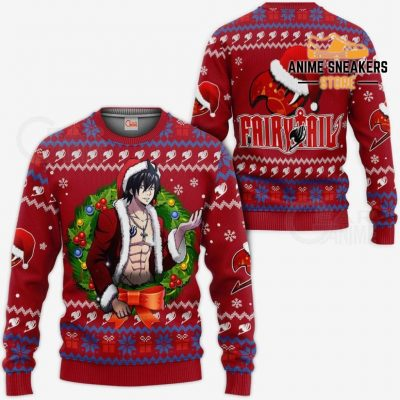 Fairy Tail Gray Fullbuster Ugly Christmas Sweater Anime Xmas Va11 / S All Over Printed Shirts