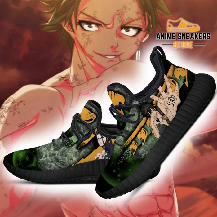 Fairy Tail Gray Reze Shoes Anime Sneakers