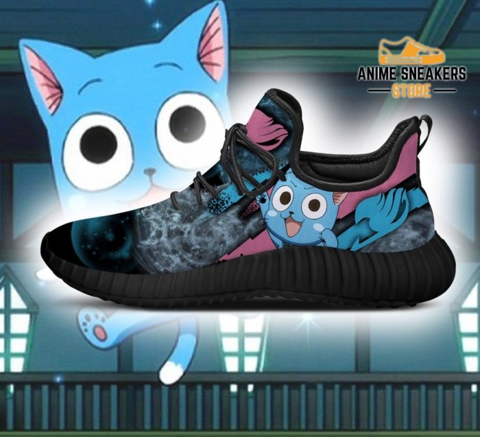 Fairy Tail Happy Reze Shoes Anime Sneakers