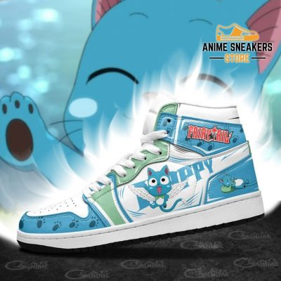 Fairy Tail Happy Sneakers Custom Anime Shoes Mn11 Jd