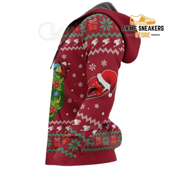 Fairy Tail Happy Ugly Christmas Sweater Anime Custom Xmas Va11 All Over Printed Shirts
