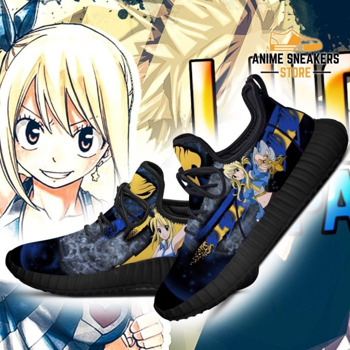 Fairy Tail Lucy Reze Shoes Anime Sneakers
