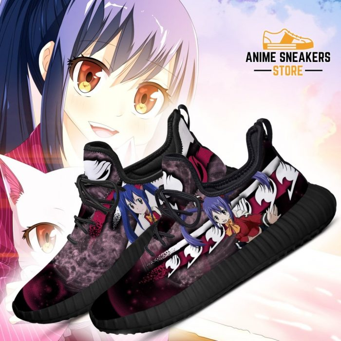 Fairy Tail Wendy Reze Shoes Anime Sneakers