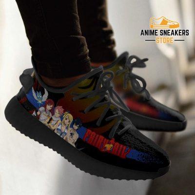 Fairy Tail Yeezy Anime Sneakers Shoes Fan Gift Idea Tt04