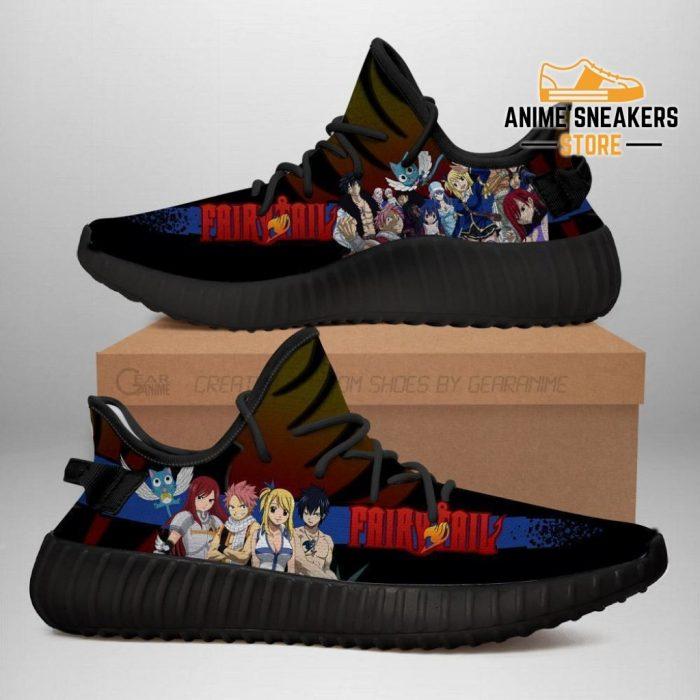 Fairy Tail Yeezy Anime Sneakers Shoes Fan Gift Idea Tt04 Men / Us6