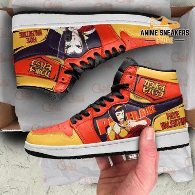 Faye Valentine Sneakers Cowboy Bebop Anime Custom Shoes Mn10 Men / Us6.5 Jd