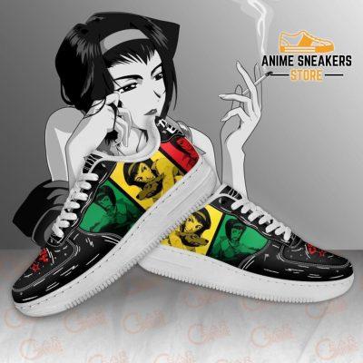 Faye Valentine Sneakers Cowboy Bebop Anime Custom Shoes Pt10 Air Force