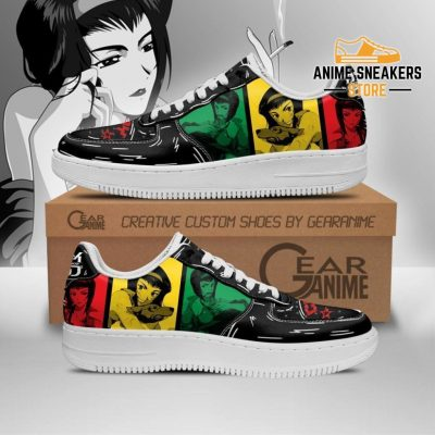 Faye Valentine Sneakers Cowboy Bebop Anime Custom Shoes Pt10 Men / Us6.5 Air Force