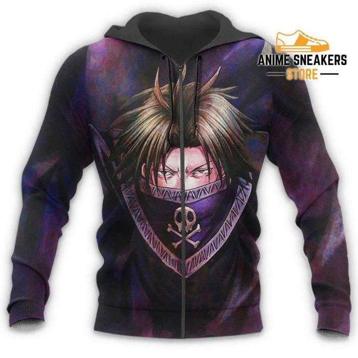 Feitan Hunter X Shirt Sweater Hxh Anime Hoodie Jacket All Over Printed Shirts