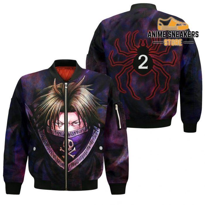 Feitan Hunter X Shirt Sweater Hxh Anime Hoodie Jacket Bomber / S All Over Printed Shirts