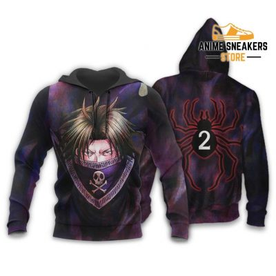 Feitan Hunter X Shirt Sweater Hxh Anime Hoodie Jacket / S All Over Printed Shirts