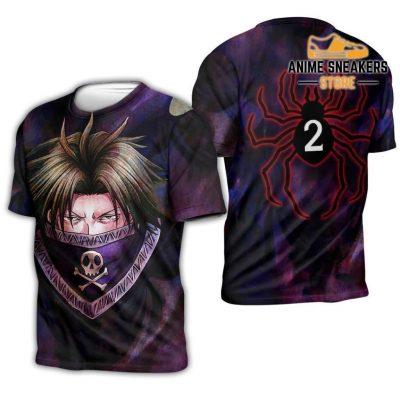 Feitan Hunter X Shirt Sweater Hxh Anime Hoodie Jacket T-Shirt / S All Over Printed Shirts