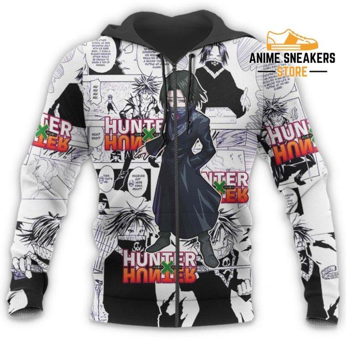 Feitan Hunter X Shirt Sweater Hxh Anime Hoodie Manga Jacket All Over Printed Shirts