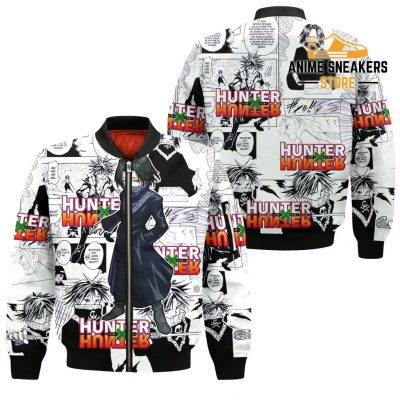Feitan Hunter X Shirt Sweater Hxh Anime Hoodie Manga Jacket Bomber / S All Over Printed Shirts