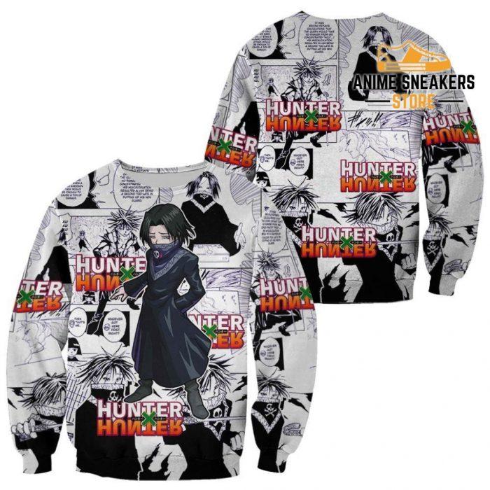 Feitan Hunter X Shirt Sweater Hxh Anime Hoodie Manga Jacket / S All Over Printed Shirts