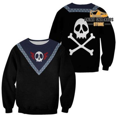 Feitan Hunter X Uniform Shirt Hxh Anime Hoodie Jacket Sweater / S All Over Printed Shirts