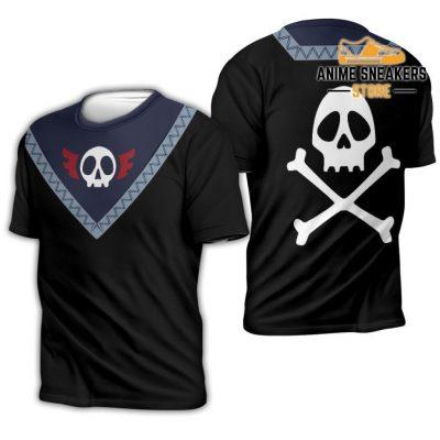 Feitan Hunter X Uniform Shirt Hxh Anime Hoodie Jacket T-Shirt / S All Over Printed Shirts