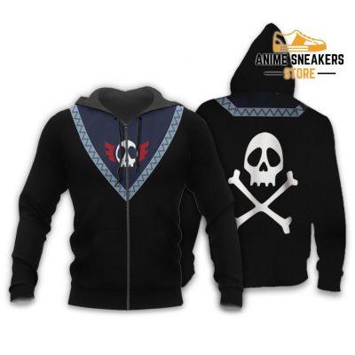 Feitan Hunter X Uniform Shirt Hxh Anime Hoodie Jacket Zip / S All Over Printed Shirts