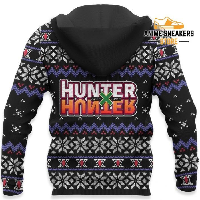 Feitan Ugly Christmas Sweater Hunter X Anime Xmas Gift Clothes All Over Printed Shirts