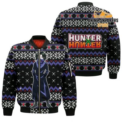 Feitan Ugly Christmas Sweater Hunter X Anime Xmas Gift Clothes Bomber Jacket / S All Over Printed