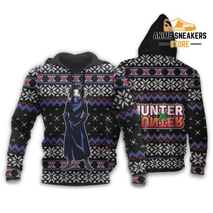 Feitan Ugly Christmas Sweater Hunter X Anime Xmas Gift Clothes Hoodie / S All Over Printed Shirts