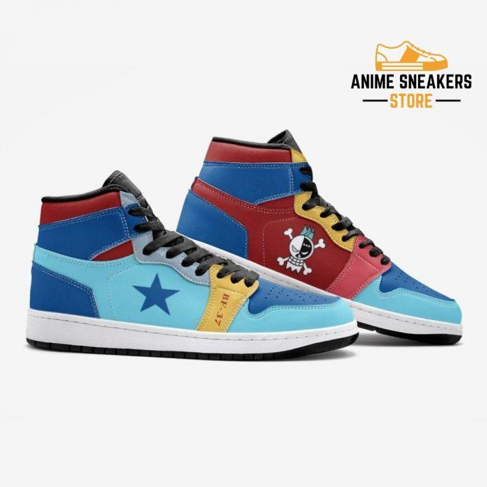 Franky One Piece Custom J-Force Shoes Mens