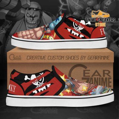Franky Slip On Shoes One Piece Custom Anime Slip-On