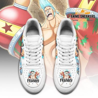 Franky Sneakers Custom One Piece Anime Shoes Fan Pt04 Air Force